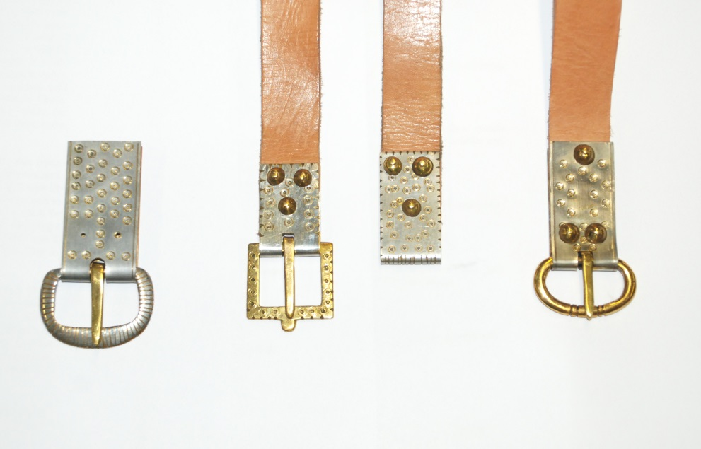 Belts and belt fittings blueaxe reproductions